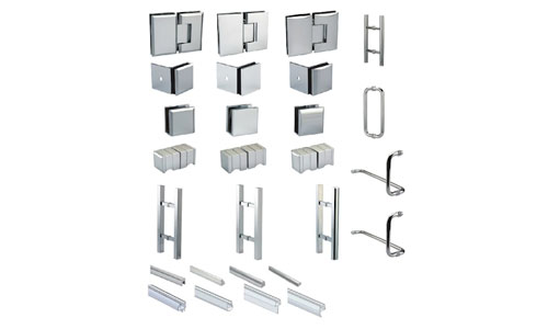 GLASS HARDWARE